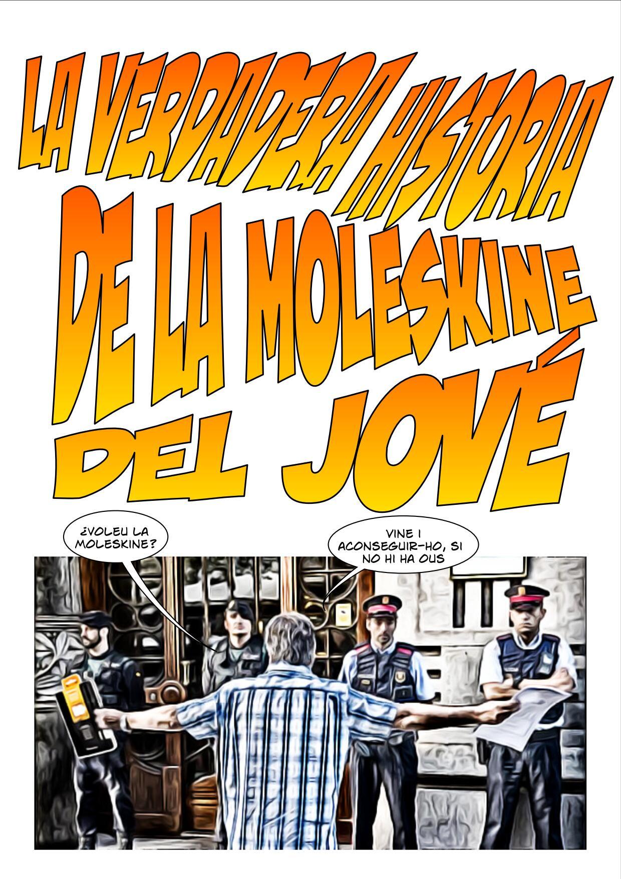 La Moleskine del Jové Cómic página 1